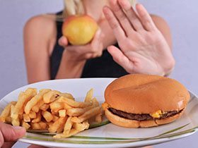 Frequent avoidance of eating meals by giving excuses